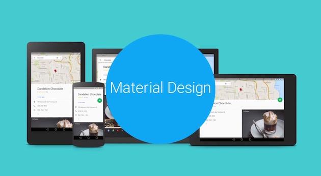 Google estrena traje en Android, Chrome y en la web con Material Design