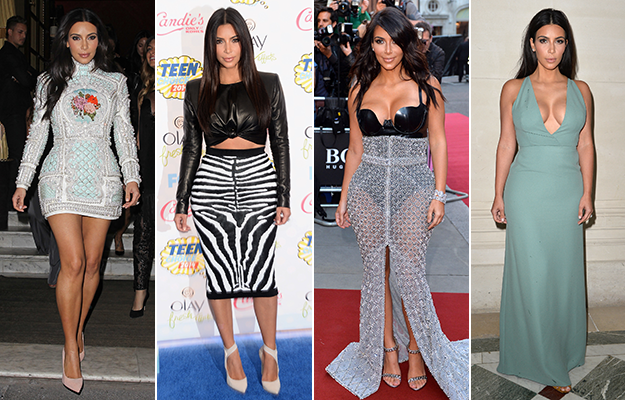 2014 wrap-up: A year of style with Kim Kardashian