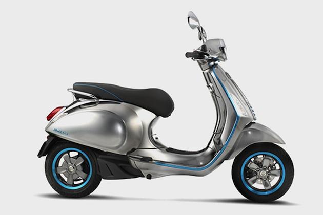 ベスパ、電動スクーターを発表 2017年後半に市販化へ