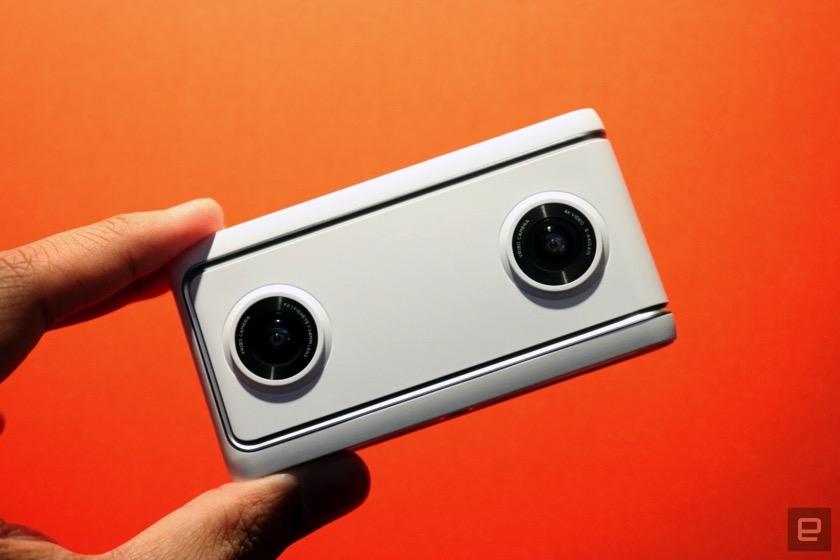 Google zeigt VR-Kameras von Lenovo und Yi