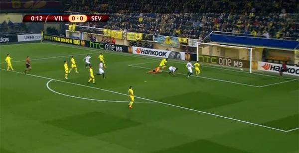 UEFAヨーロッパリーグで生まれた試合開始13秒、史上最速ゴールが華麗すぎる【動画】