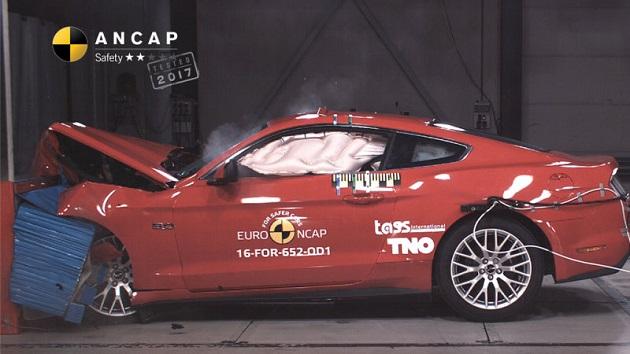 フォード「マスタング」、オーストラリアの安全性試験で2つ星の低評価