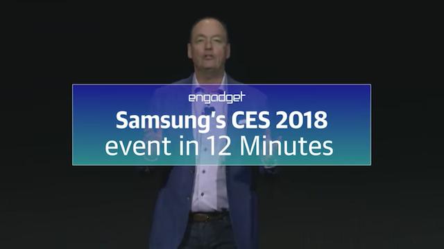 Alle Highlights: Samsung auf der CES 2018