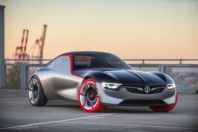 オペル、ジュネーブで発表する小型スポーツ・クーペ「GT コンセプト」の画像と概要を公開