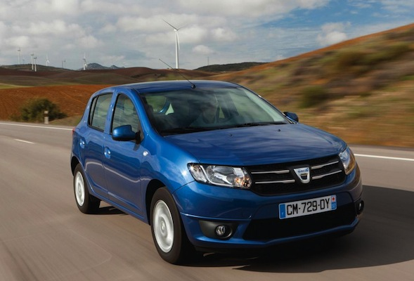 performance dacia sandero hatchback in development aol uk cars. Black Bedroom Furniture Sets. Home Design Ideas