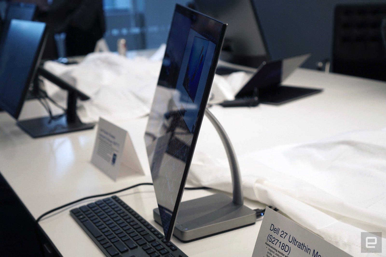 El Dell 27 Ultrathin es tan delgado que casi no lo verás de perfil