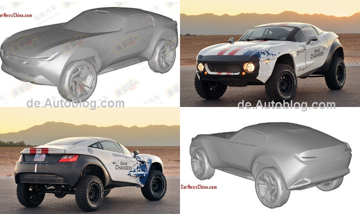Local Motors Rally Fighter, Haval, Great Wall, China Copy, China Copy Shop, Plagiat, kopieren, Kopie, Haval Rally Concept