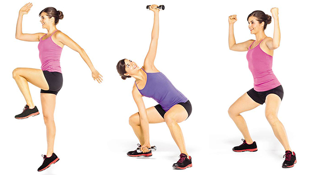 16 calorie-burning plyometric moves for the perfect beach body