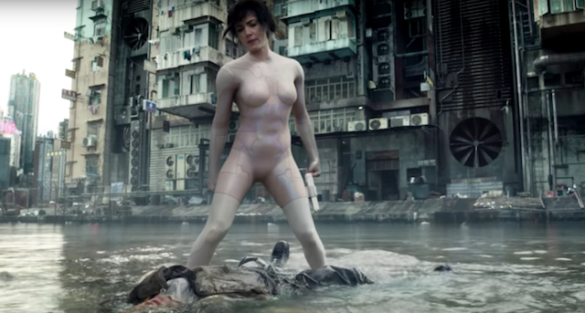 "Neuer Trailer: ""Ghost In The Shell"" mit Scarlett Johansson"
