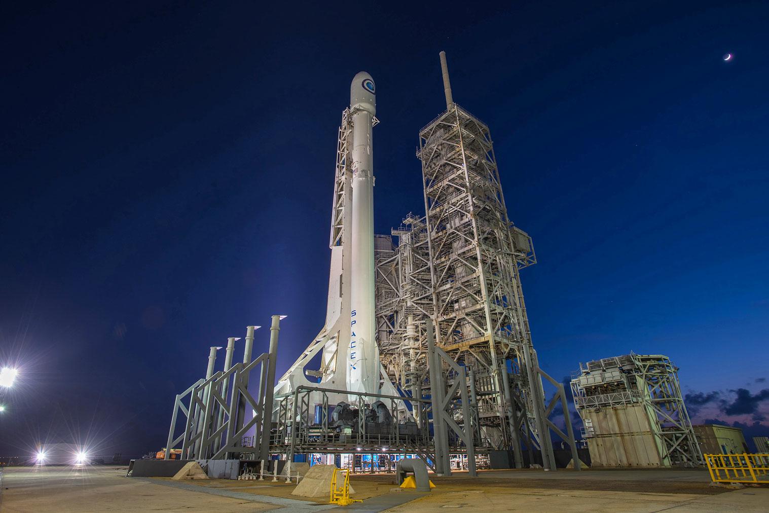SpaceX llevará hoy a su Falcon 9 al límite: síguelo aquí