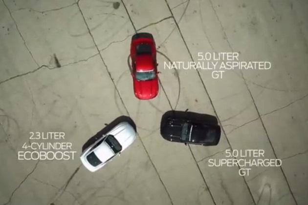 【ビデオ】エコブースト搭載の新型フォード「マスタング」、ゼロヨンで12秒台を達成
