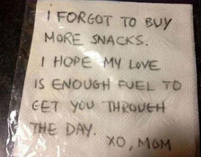 funny lunchbox notes