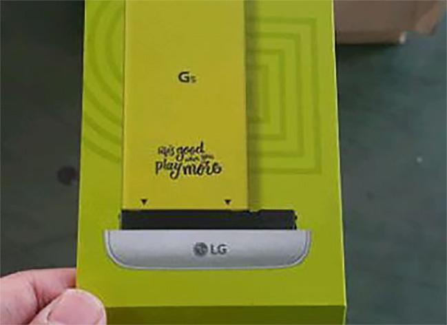 Más detalles del LG G5: Esta es su batería modular