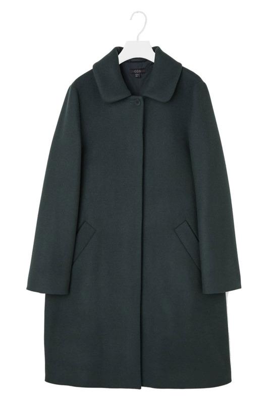 COS oversize A-line coat