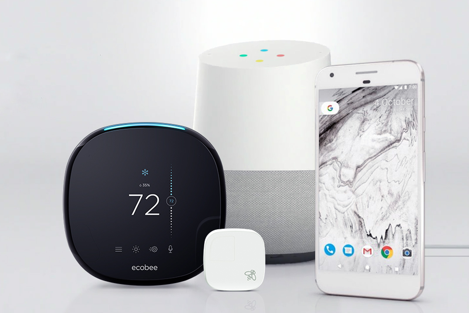 photo image Control Ecobee's smart thermostats with Google Assistant