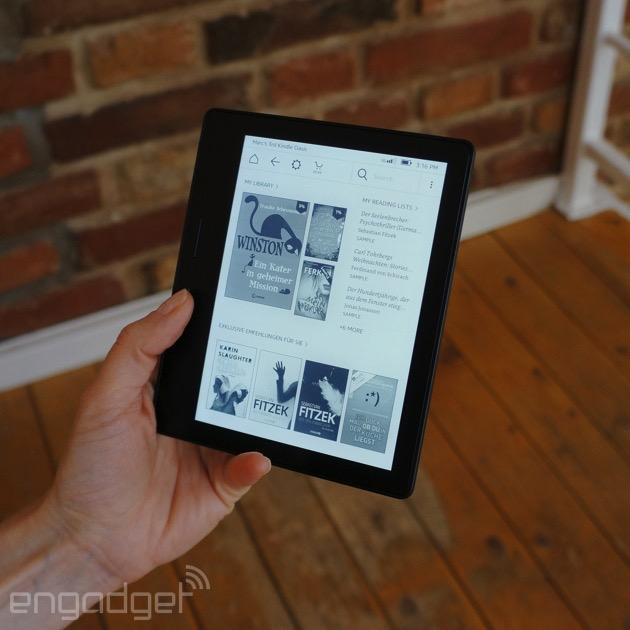 Oasis: Der neue Kindle von Amazon ist super dünn und super leicht (Hands-On)