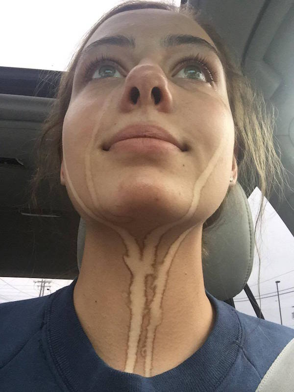 This Is Why You Should Never Cry After A Spray Tan