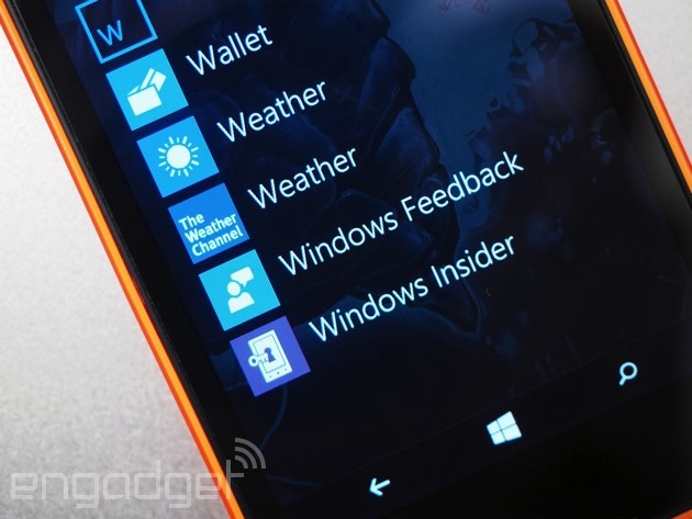 Microsoft's new browser hits phones in latest Windows 10 preview