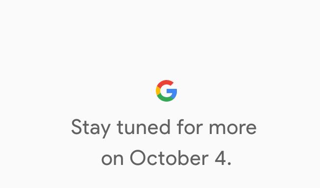 Googles neue Pixel Smartphones kommen am 4. Oktober