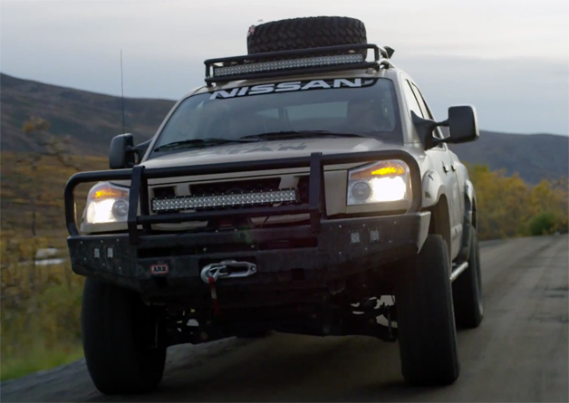 Video  Nissan Titan Wounded Warrior project lands in time for Veterans Day
