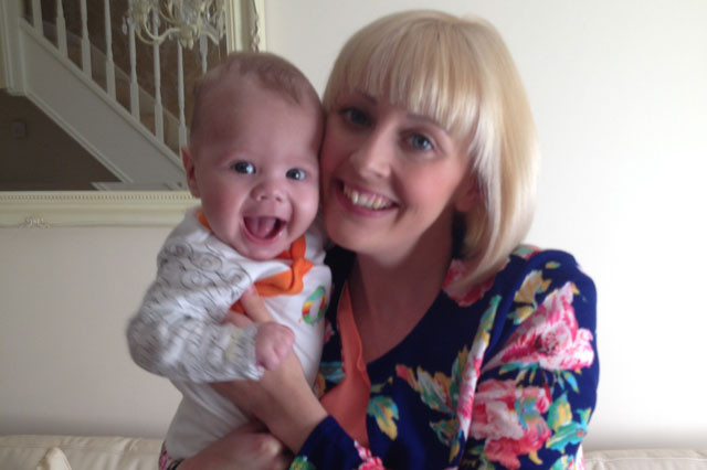 Hayley Edawards has launcheda campaign to change the way babies with reflux are treated