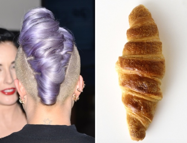 Kelly Osbourne's hair: Inspired by a croissant?