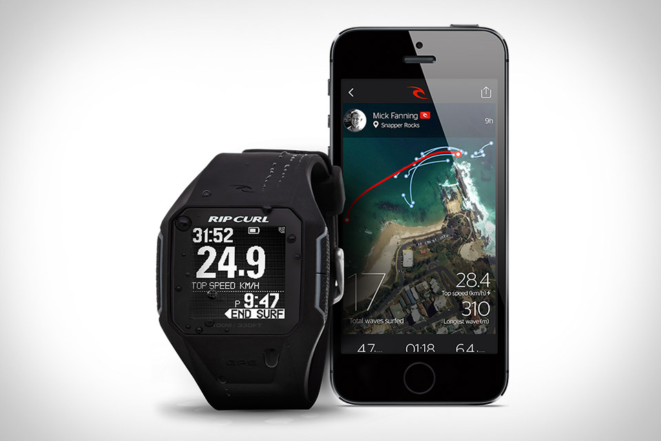 Search GPS by Rip Curl, el primer reloj GPS para surcar las olas (video)