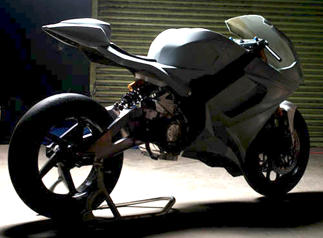 Liightning Motorcycles LS-218 teaser enhanced