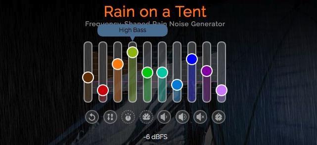 NoiseMachines: Rausch-Generatoren satt (Regen, Ambient, Data Center)