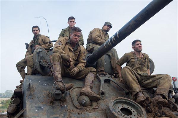 オスカー最有力!ブラッド・ピットが1台の戦車でナチ大軍に特攻!『フューリー』11月上陸