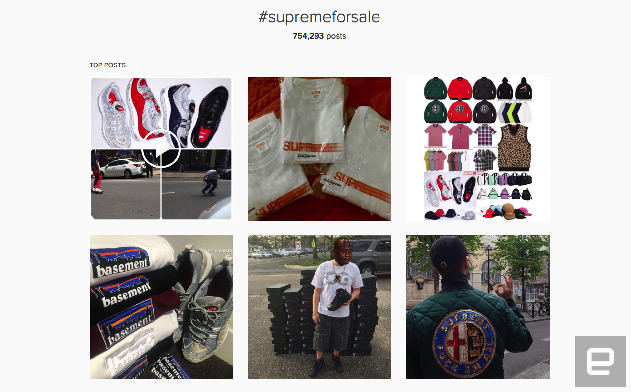How Instagram became the perfect platform for streetwear resellers