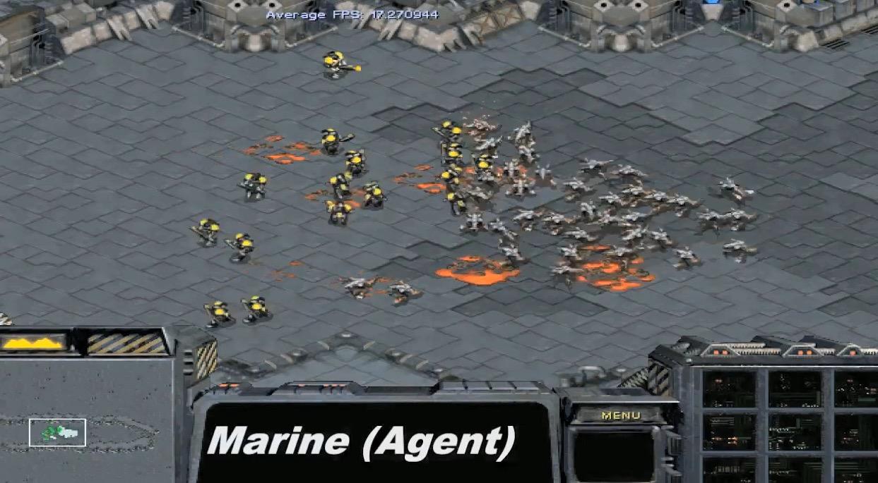 Künstliche Intelligenzen werfen sich auf StarCraft