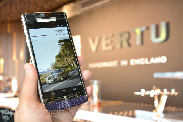 Vertu to launch 'Bentley' collection of luxury smartphones