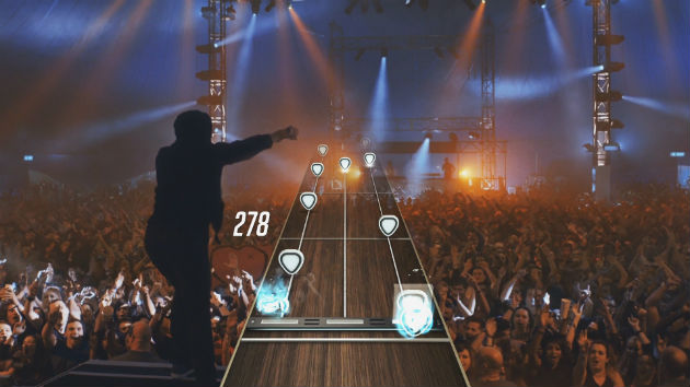 The first bands in 'Guitar Hero Live' include Alt-J, Pantera, Skrillex