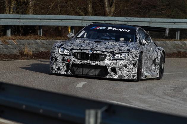 BMWが新モデル「M6 GT3」レースカーのプロトタイプをプレビュー