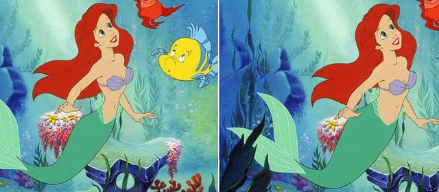 Disney Princesses with realistic waistlines look beautiful