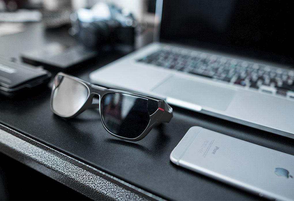Ace Eyewear: Video-Sonnenbrille für YouTube, Instagram und Facebook