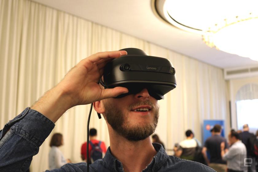 Lenovo Explorer: Headset für Mixed Reality kommt im Oktober
