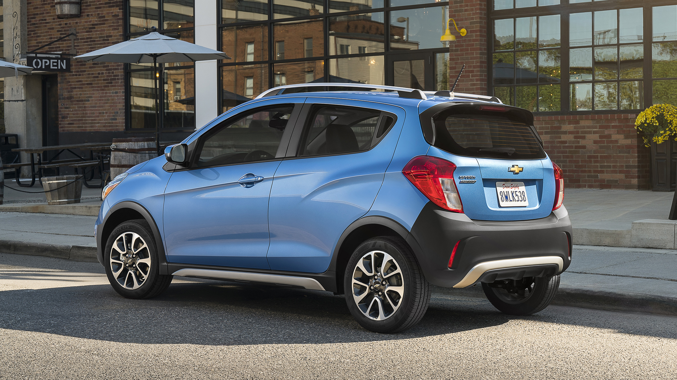 The 2017 Chevrolet Spark ACTIV is a sportier take on the brand's versatile, connected mini-car, featuring trail-inspired accents and upscale features that complement its urban-chic design. It will be available for sale in the first quarter of 2017.