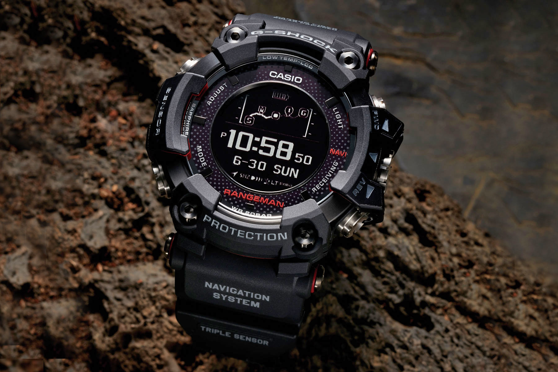 Este reloj solar con GPS de Casio es ideal para 'survivalistas'