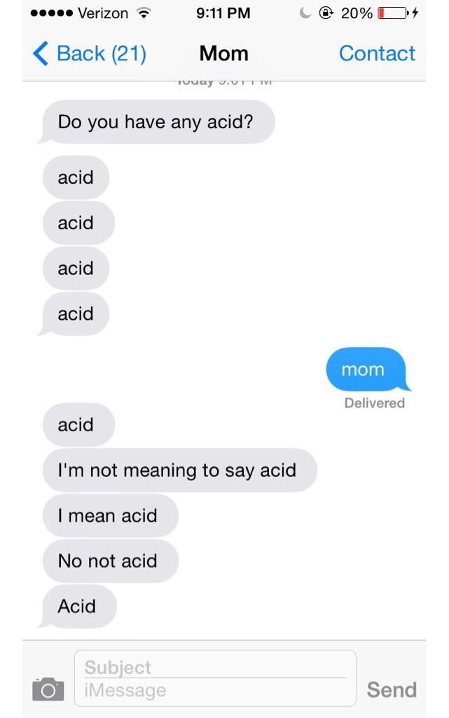 Acid Laundry