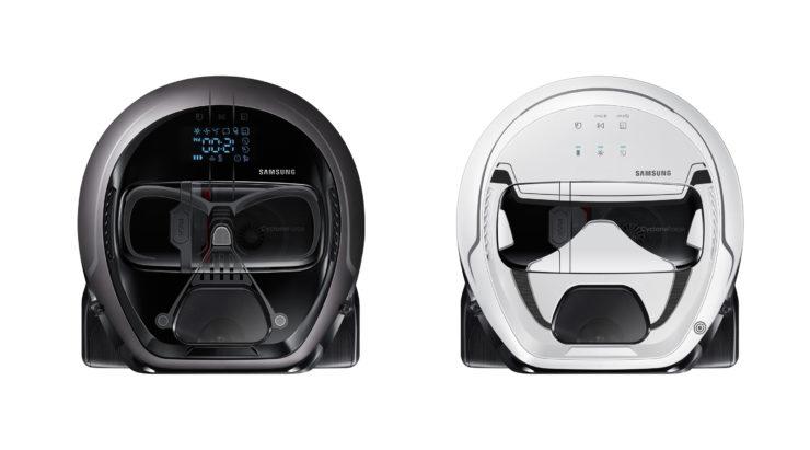 Samsung hat Darth Vader und Stormtrooper Saugroboter im Angebot