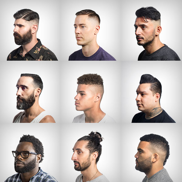 man bun hair trends comb over