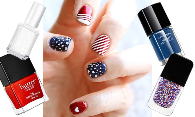 The cutest July 4th nail art ideas we found on Pinterest