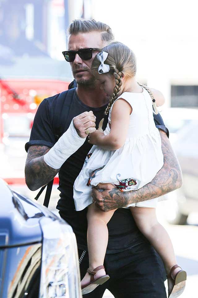 David-Beckham-Harper-Beckham-Bandage