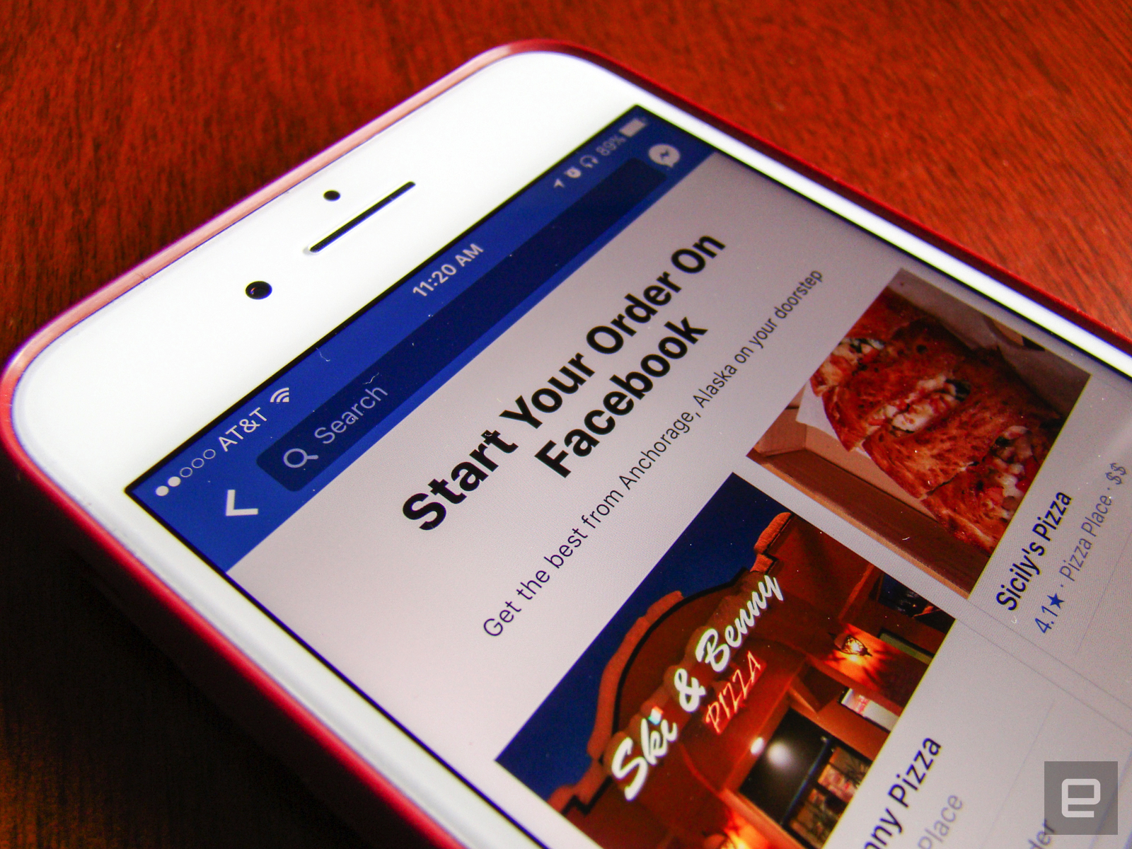 photo image Facebook adds food ordering so you never have to leave