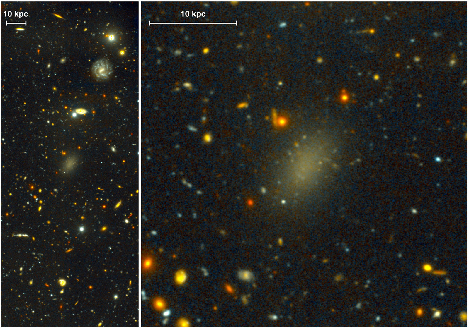 Strange galaxy is made almost entirely of dark matter