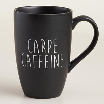 Carpe Caffeine mug