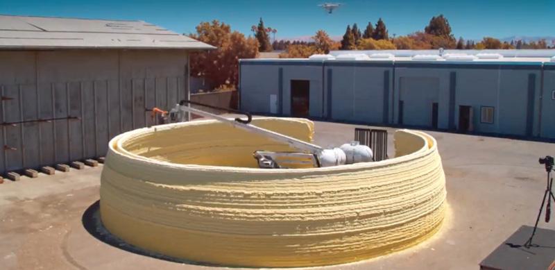 3D-Betondruck: MIT baut autonomen Häuslebauer-Bot