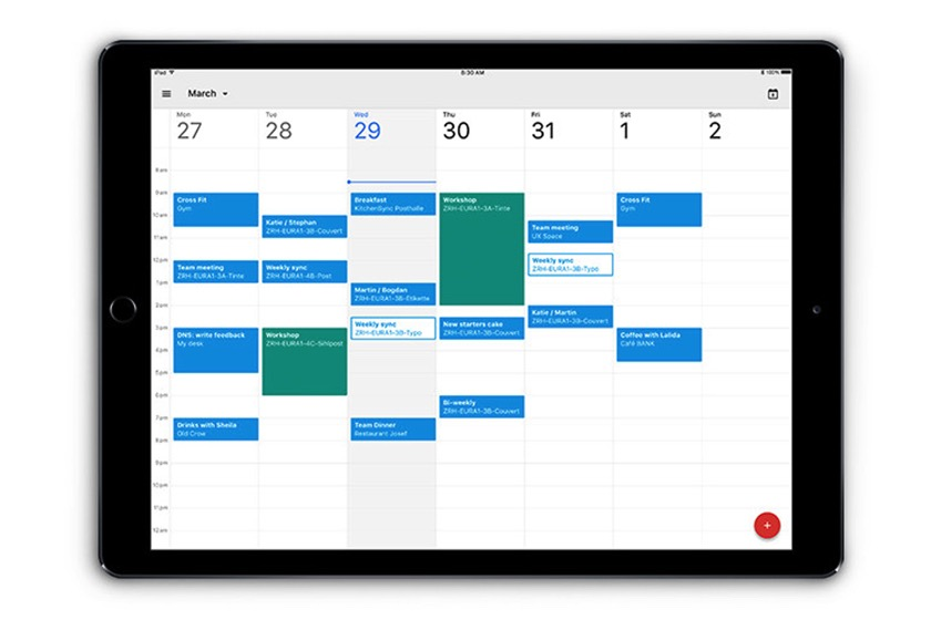 Endlich: Google veröffentlicht Kalender-App für iPad